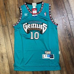 NWT Mike Bibby Vancouver Grizzlies NBA Jersey NEW